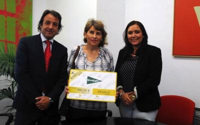 """Paqui Ramírez ha sido la ganadora del sorteo """"Vota a mejor stand"""""""
