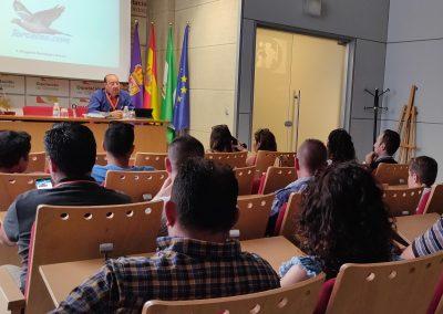 Conferencia Caza de la Paloma Torcaz con cimbel