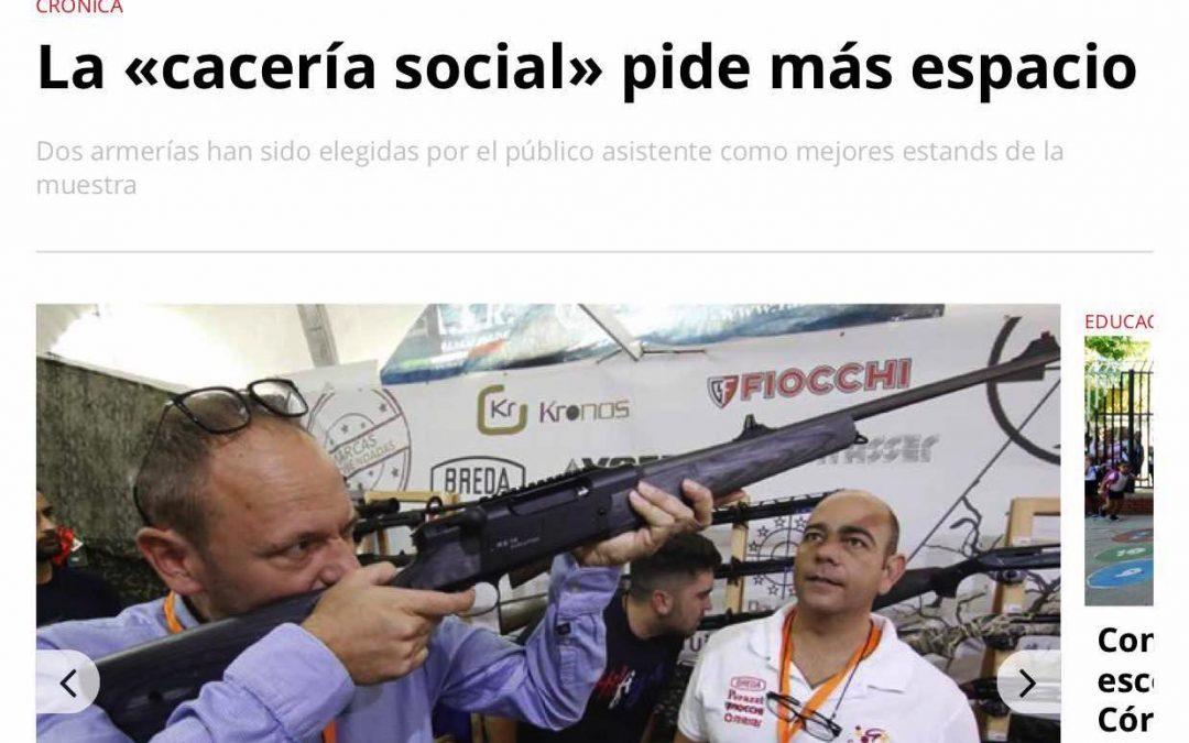La «cacería social» pide más espacio
